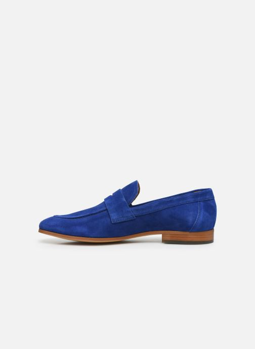 Mocasines Marvin&Co Newmoc Azul vista de frente