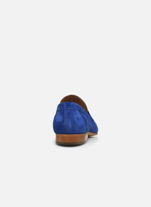 Mocasines Marvin&Co Newmoc Azul vista lateral derecha
