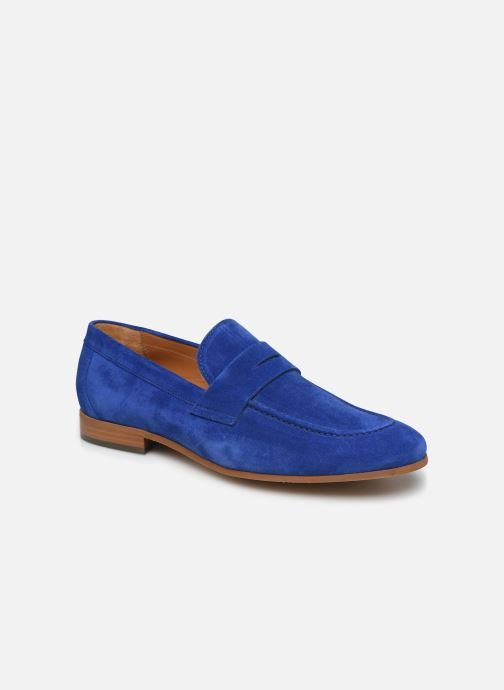 Mocasines Marvin&Co Newmoc Azul vista de detalle / par