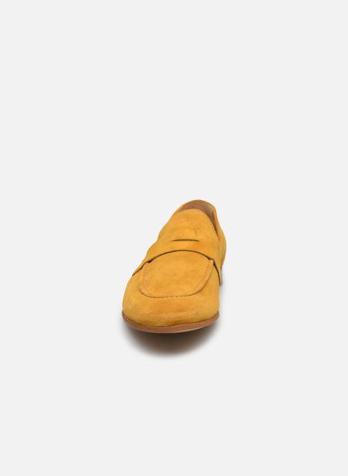 Mocassins Marvin&Co Newmoc Jaune vue portées chaussures