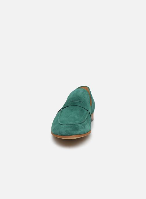 Mocasines Marvin&Co Newmoc Verde vista del modelo