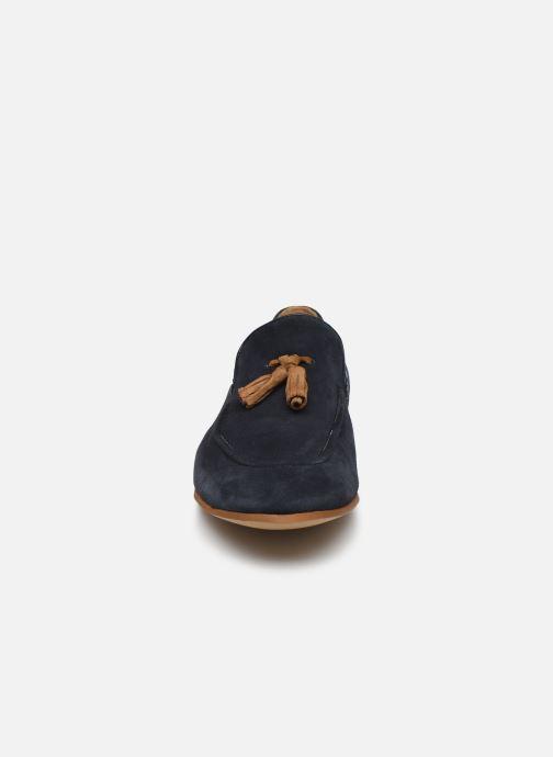 Mocassins Marvin&Co Novomoc Bleu vue portées chaussures