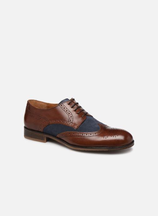 Chaussures à lacets Marvin&Co Nirina Marron vue détail/paire