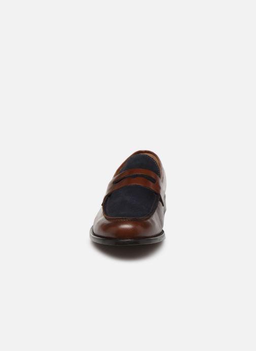 Mocassins Marvin&Co Neiri Marron vue portées chaussures