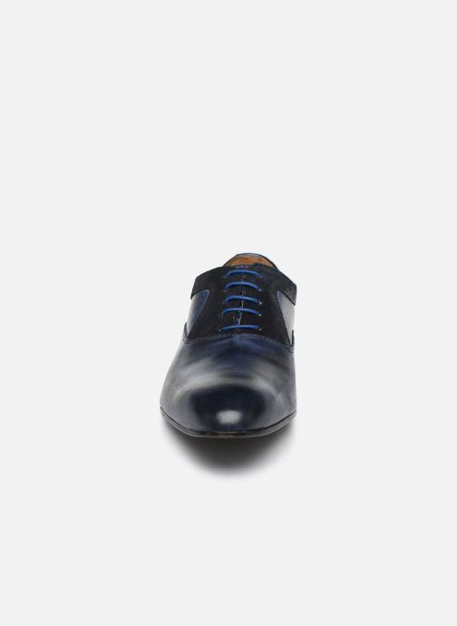 Zapatos con cordones Marvin&Co Nyrio Azul vista del modelo
