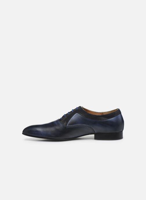 Zapatos con cordones Marvin&Co Nyrio Azul vista de frente