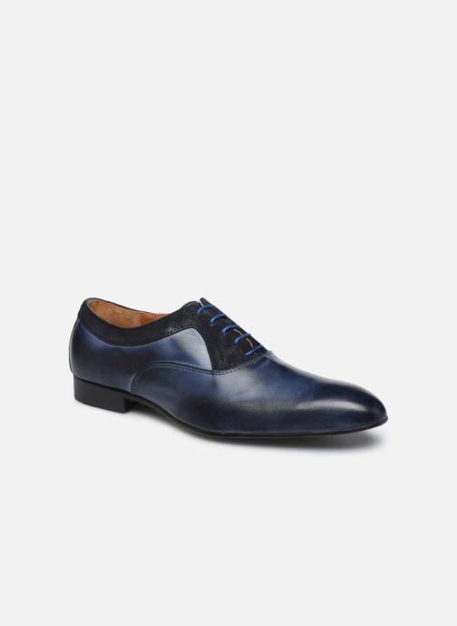 Zapatos con cordones Marvin&Co Nyrio Azul vista de detalle / par
