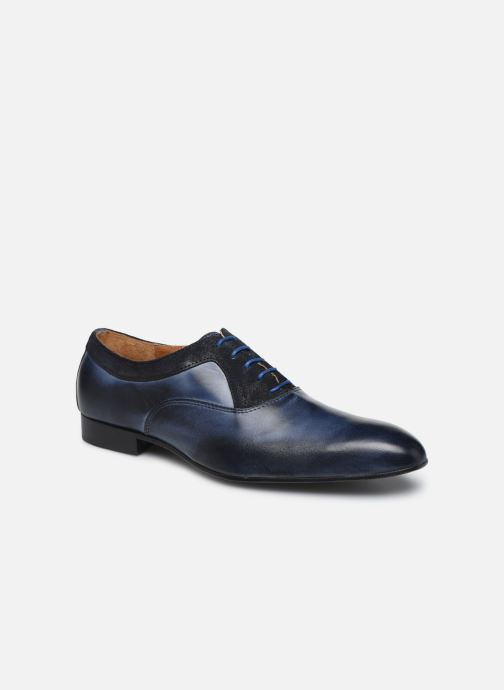 Chaussures à lacets Marvin&Co Nyrio Bleu vue détail/paire