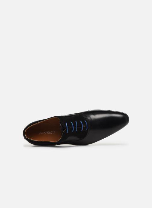 Chaussures à lacets Marvin&Co Nyrio Noir vue gauche
