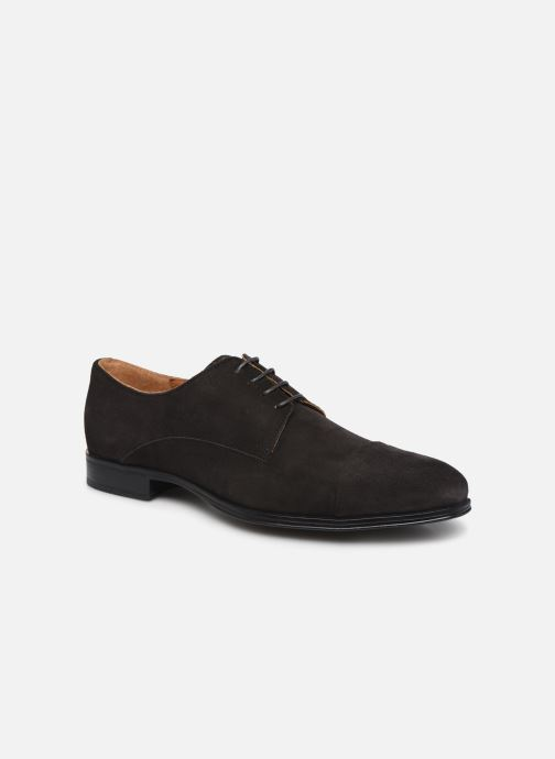 Lace-up shoes Marvin&co Nonty Grey detailed view/ Pair view