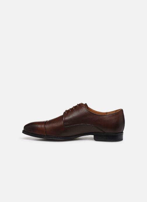 Chaussures à lacets Marvin&Co Nonty Marron vue face