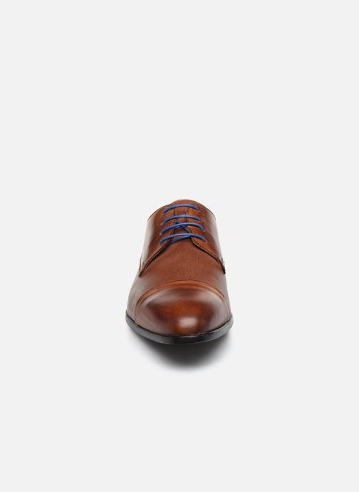 Schnürschuhe Marvin&Co Nueva braun schuhe getragen
