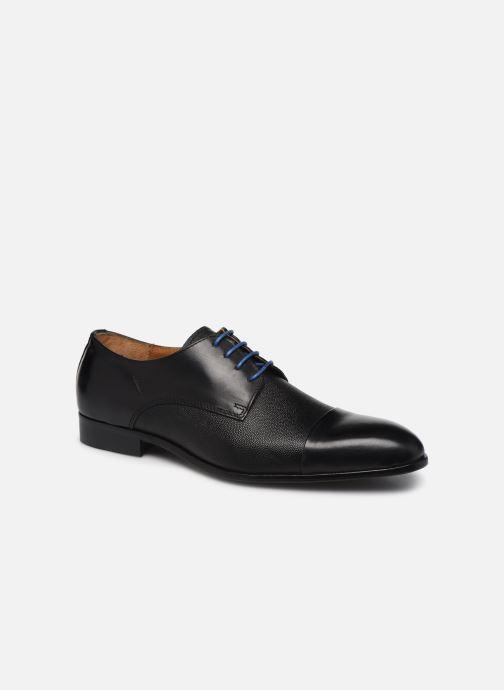 Zapatos con cordones Marvin&Co Nueva Negro vista de detalle / par