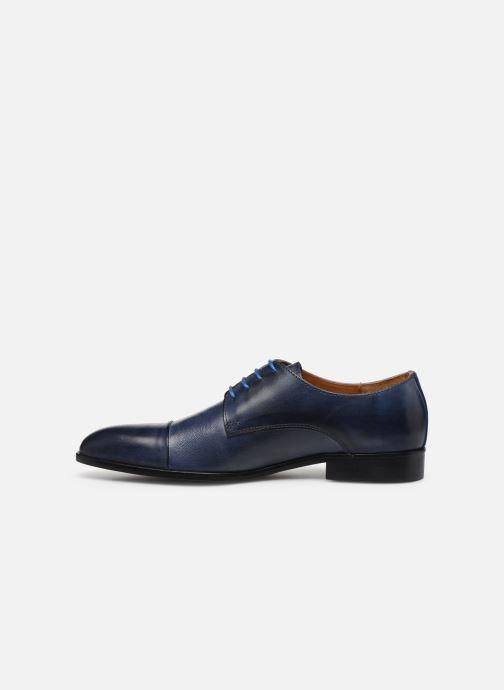 Zapatos con cordones Marvin&Co Nueva Azul vista de frente