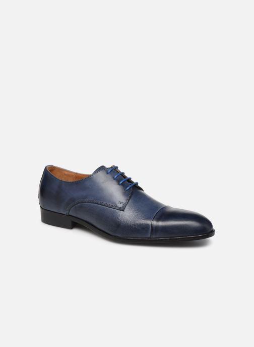 Chaussures à lacets Marvin&Co Nueva Bleu vue détail/paire