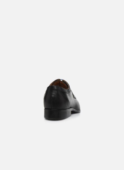 Zapatos con cordones Marvin&Co Nevery Negro vista lateral derecha