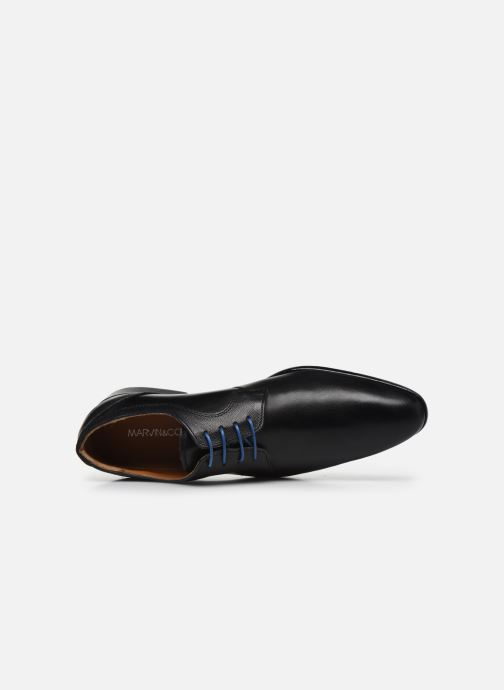 Zapatos con cordones Marvin&Co Nevery Negro vista lateral izquierda