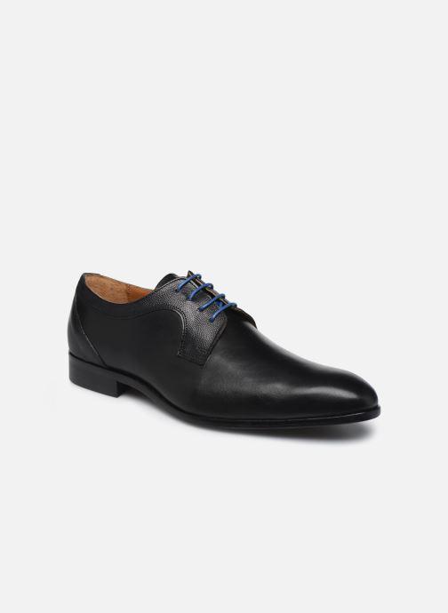 Zapatos con cordones Marvin&Co Nevery Negro vista de detalle / par