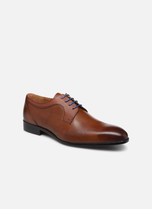 Lace-up shoes Marvin&co Nevery Brown detailed view/ Pair view