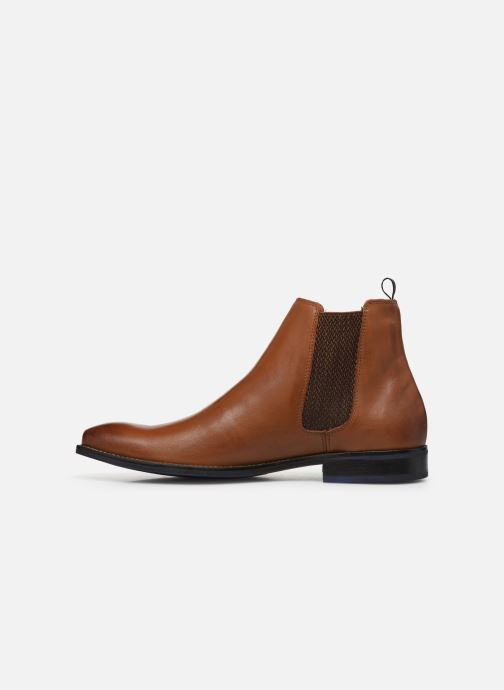 Ankle boots Marvin&co Nagacia Brown front view
