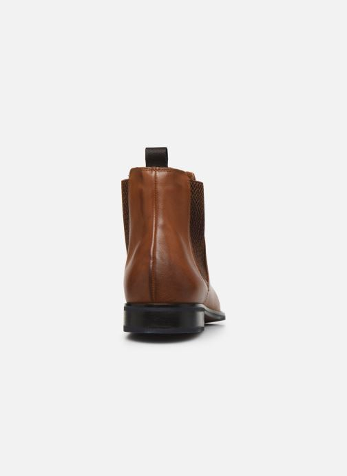 Ankle boots Marvin&co Nagacia Brown view from the right