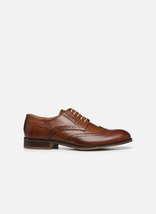 Lace-up shoes Marvin&co Nucho Brown back view