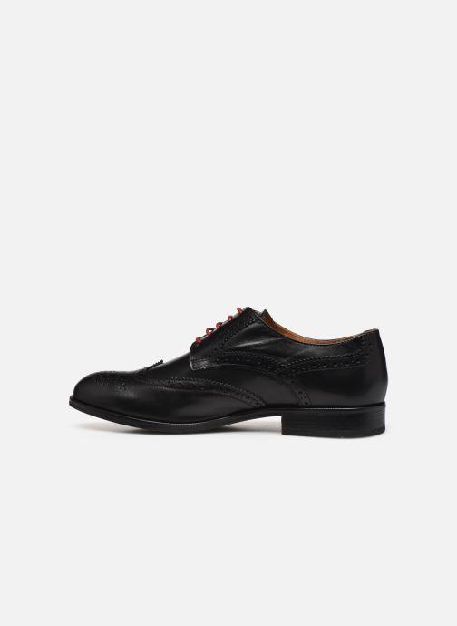 Zapatos con cordones Marvin&Co Nucho Negro vista de frente