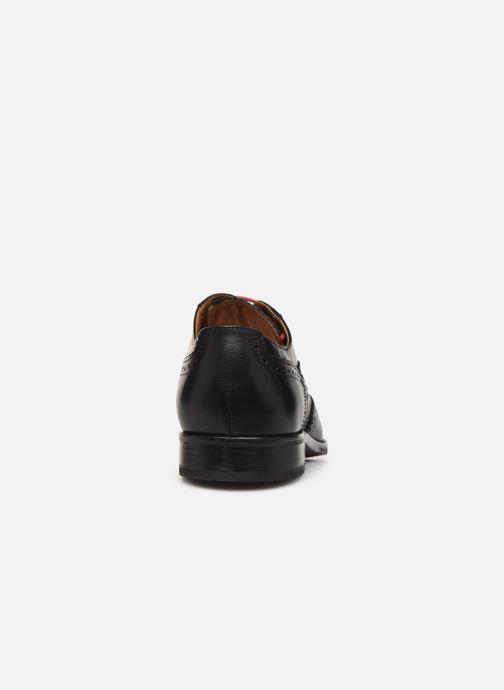 Zapatos con cordones Marvin&Co Nucho Negro vista lateral derecha