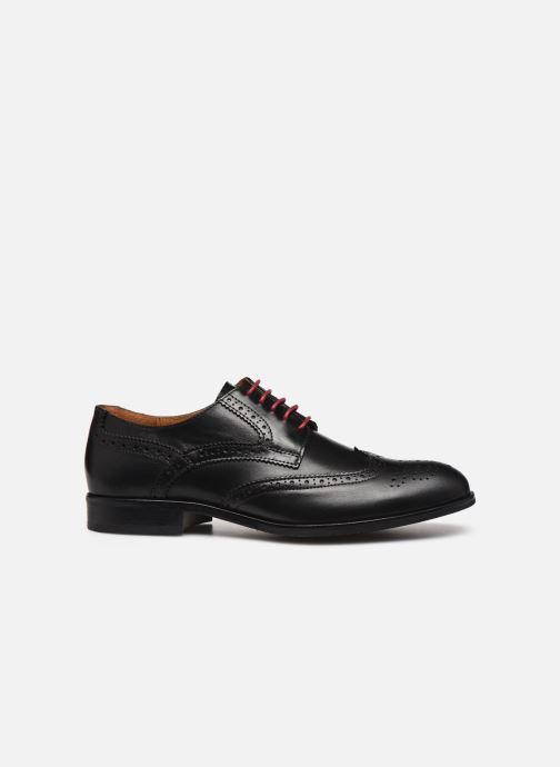 Zapatos con cordones Marvin&Co Nucho Negro vistra trasera