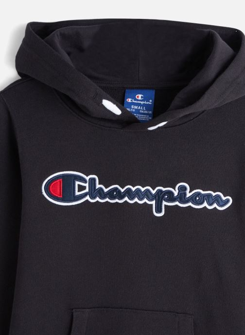 Vêtements Champion Hooded Sweatshirt 305249 Noir vue portées chaussures