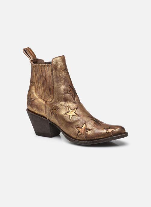 Boots en enkellaarsjes Mexicana Circus Goud en brons detail