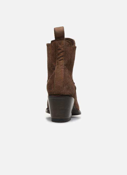 Bottines et boots Mexicana Gaucho Long Stitch Marron vue droite