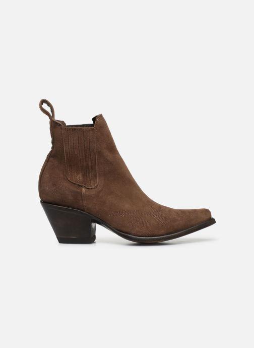 Boots en enkellaarsjes Mexicana Gaucho Long Stitch Bruin achterkant