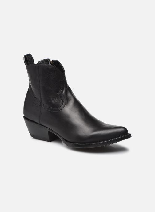 Bottines et boots Mexicana Maya Noir vue détail/paire