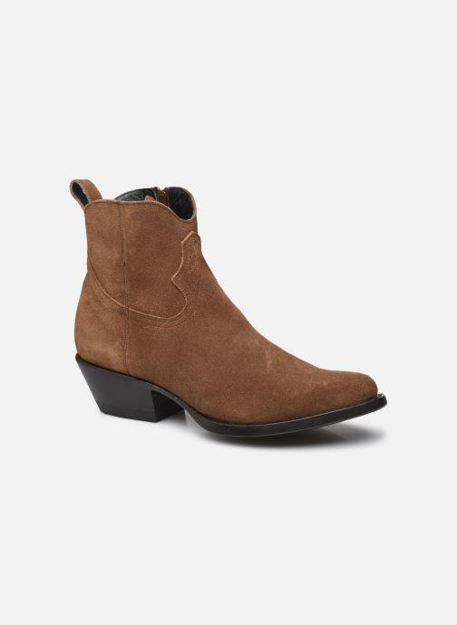 Bottines et boots Mexicana Maya Marron vue détail/paire