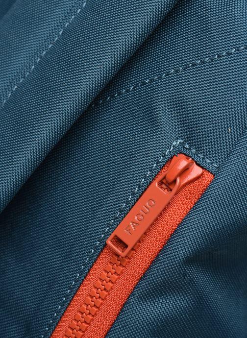 Sacs à dos Faguo Cycling Polyester Bleu vue gauche