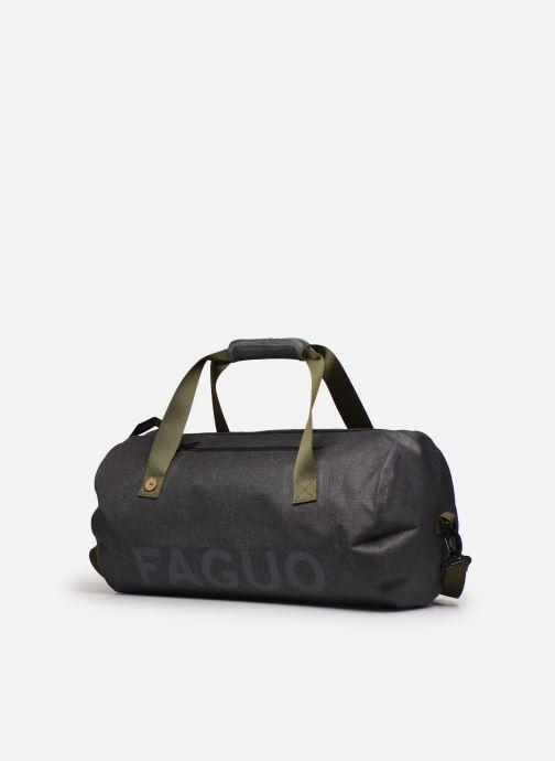 Bolsas de deporte Faguo Big Duffle Polyester Negro vista del modelo