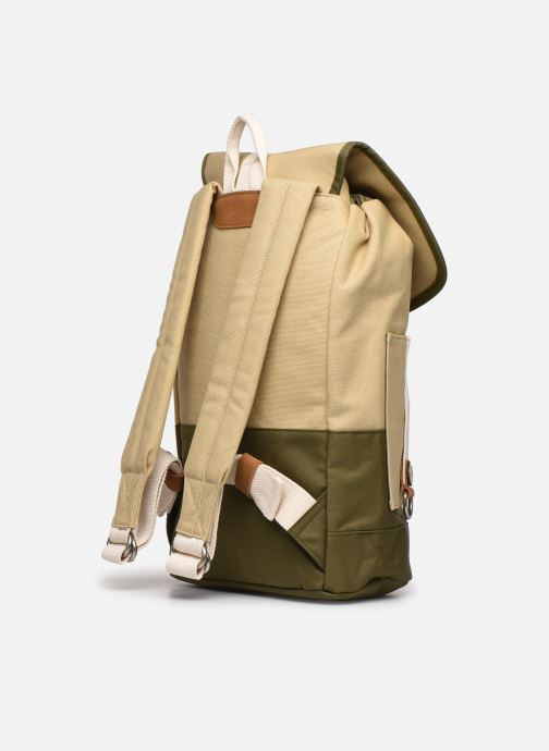 Zaini Faguo Adventurebag Cotton Beige immagine destra
