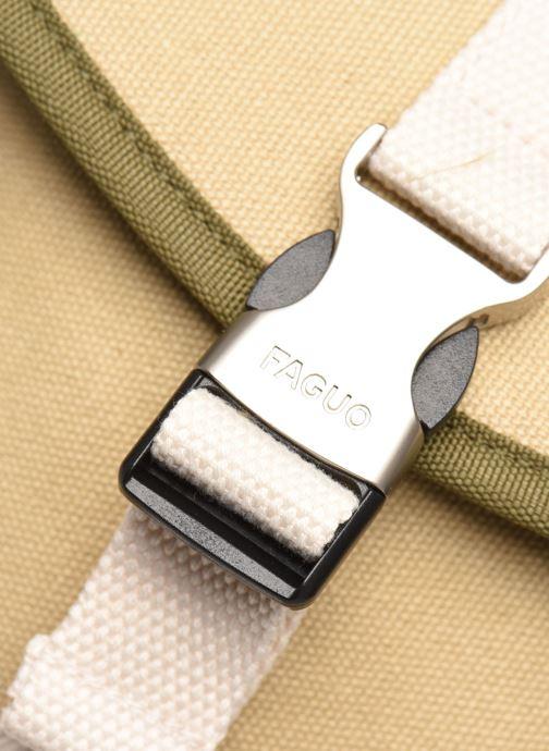 Rugzakken Faguo Adventurebag Cotton Beige links