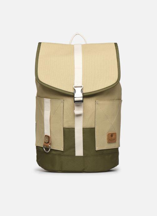Rugzakken Faguo Adventurebag Cotton Beige detail