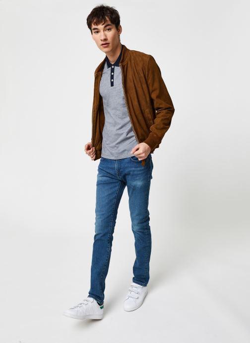 Vêtements Levi's 519™ Extreme Skinny Fit Bleu vue bas / vue portée sac