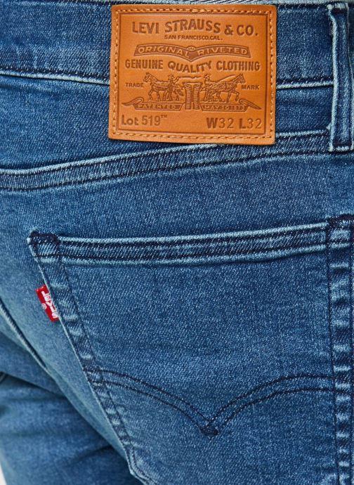Vêtements Levi's 519™ Extreme Skinny Fit Bleu vue face