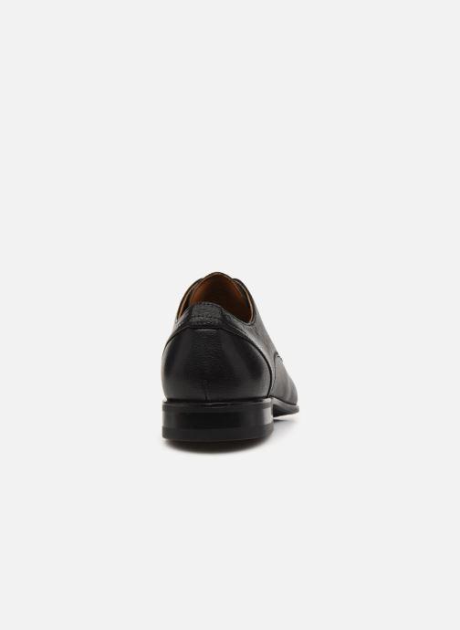 Zapatos con cordones Aldo OKONEDO Negro vista lateral derecha