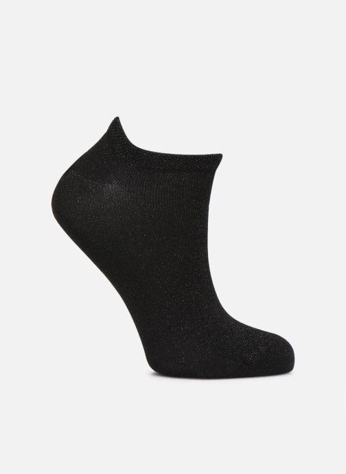 Chaussettes et collants Pieces BILLY GLITTER FOOTIE Noir vue détail/paire