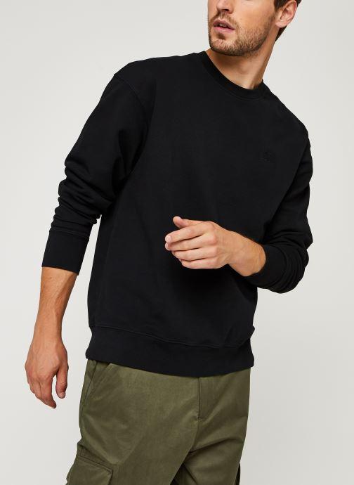 Vêtements Levi's Authentic Logo Crewneck Noir vue détail/paire
