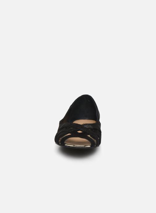 Ballerines Georgia Rose Camissia Noir vue portées chaussures