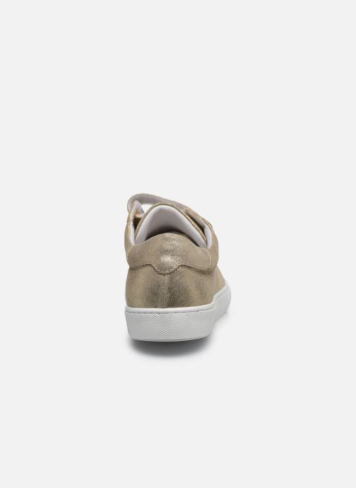 Sneakers Georgia Rose Cosemo Oro e bronzo immagine destra