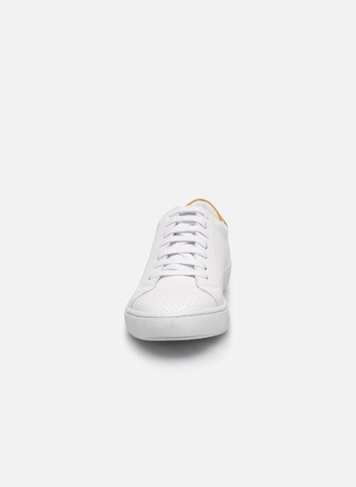Baskets Georgia Rose Cosena Blanc vue portées chaussures