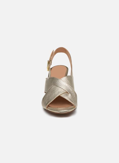Sandales et nu-pieds Georgia Rose Courti Or et bronze vue portées chaussures