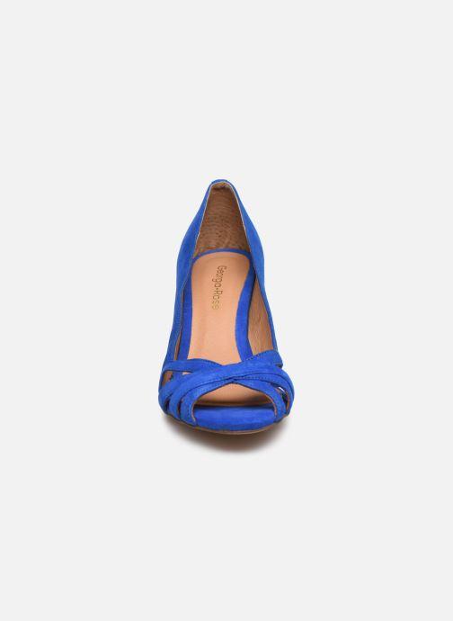 Escarpins Georgia Rose Capiloute Bleu vue portées chaussures